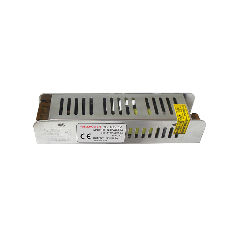 Constant Voltage 12V 60W 5A Long Strip LED Power Supply