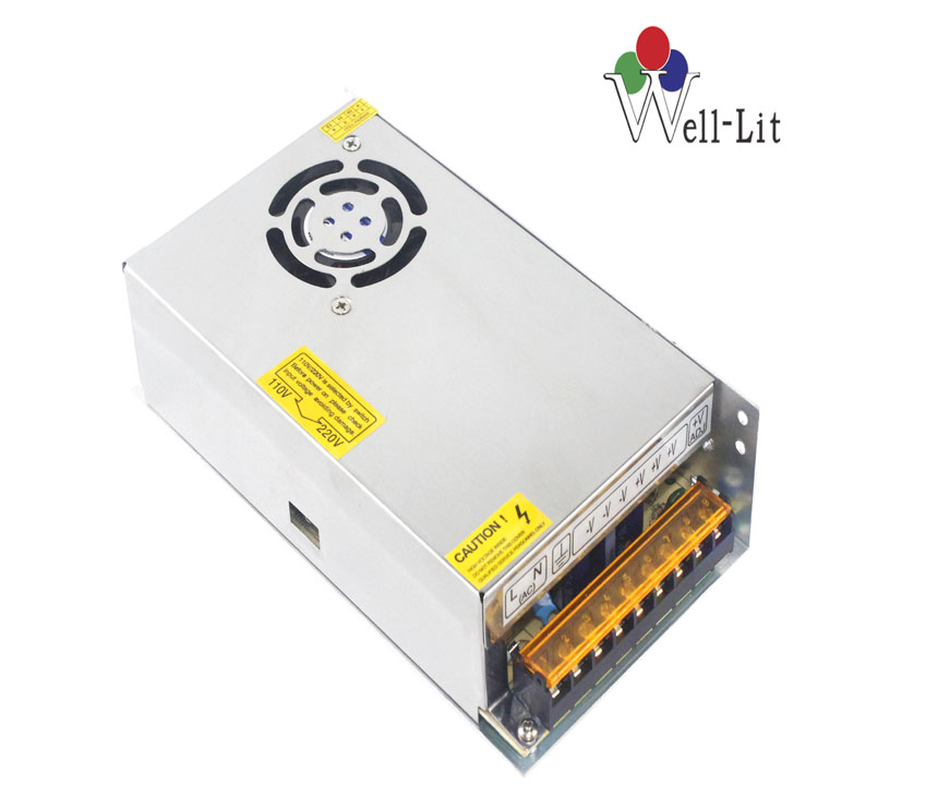 DC Fan 12V 0-20A 250W Constant Voltage LED switching Power Supply with CE,ROHS certificate