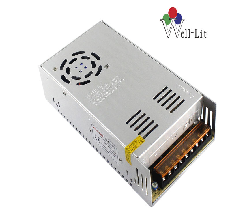DC Fan 12V 0-30A 360W Constant Voltage LED Switching Power Supply