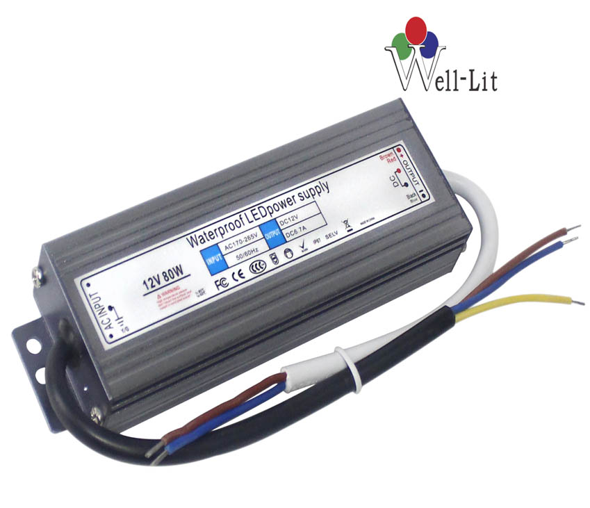 12V 0-8.3A 100W Slim Constant Voltage Waterproof LED Power Supply