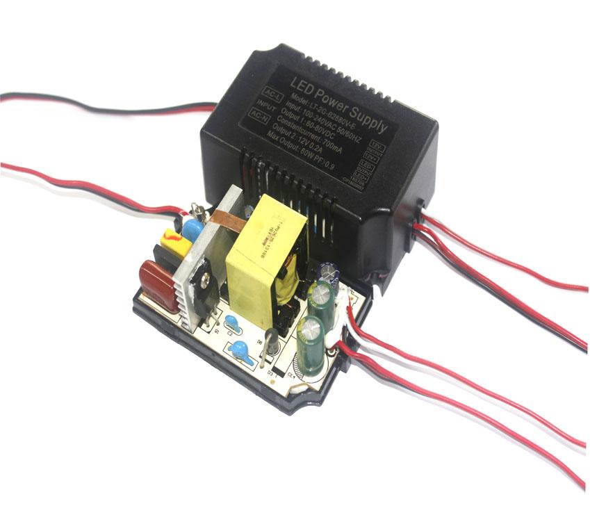 60W LED grow light power supply DC 50V 70V 80V 100V